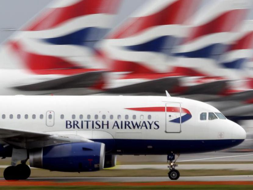 British Airways obtičal