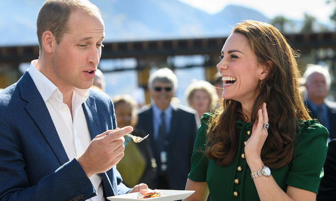 Katero jed obožujeta princ William in Kate?