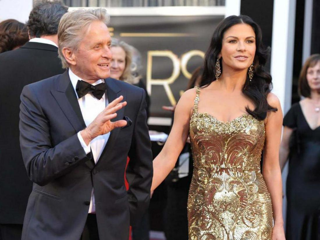 Catherine Zeta-Jones in Michael Douglas imata odprti zakon