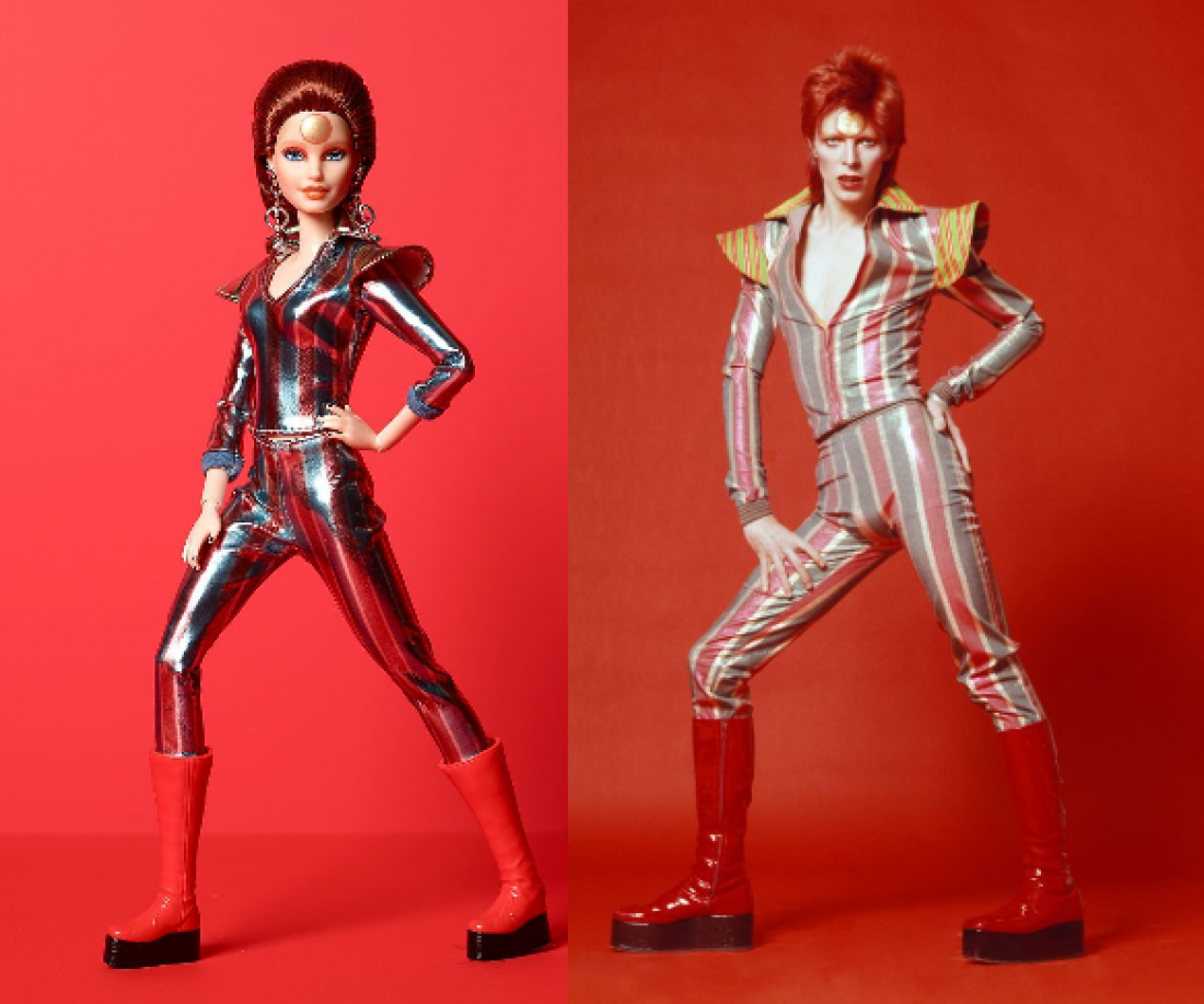 Barbie kot legendarni David Bowie